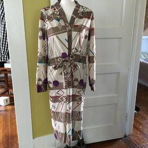 vintage Murray Meisner Secretary Shirt Dress Retro